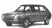 1979 FIAT Ritmo Overview