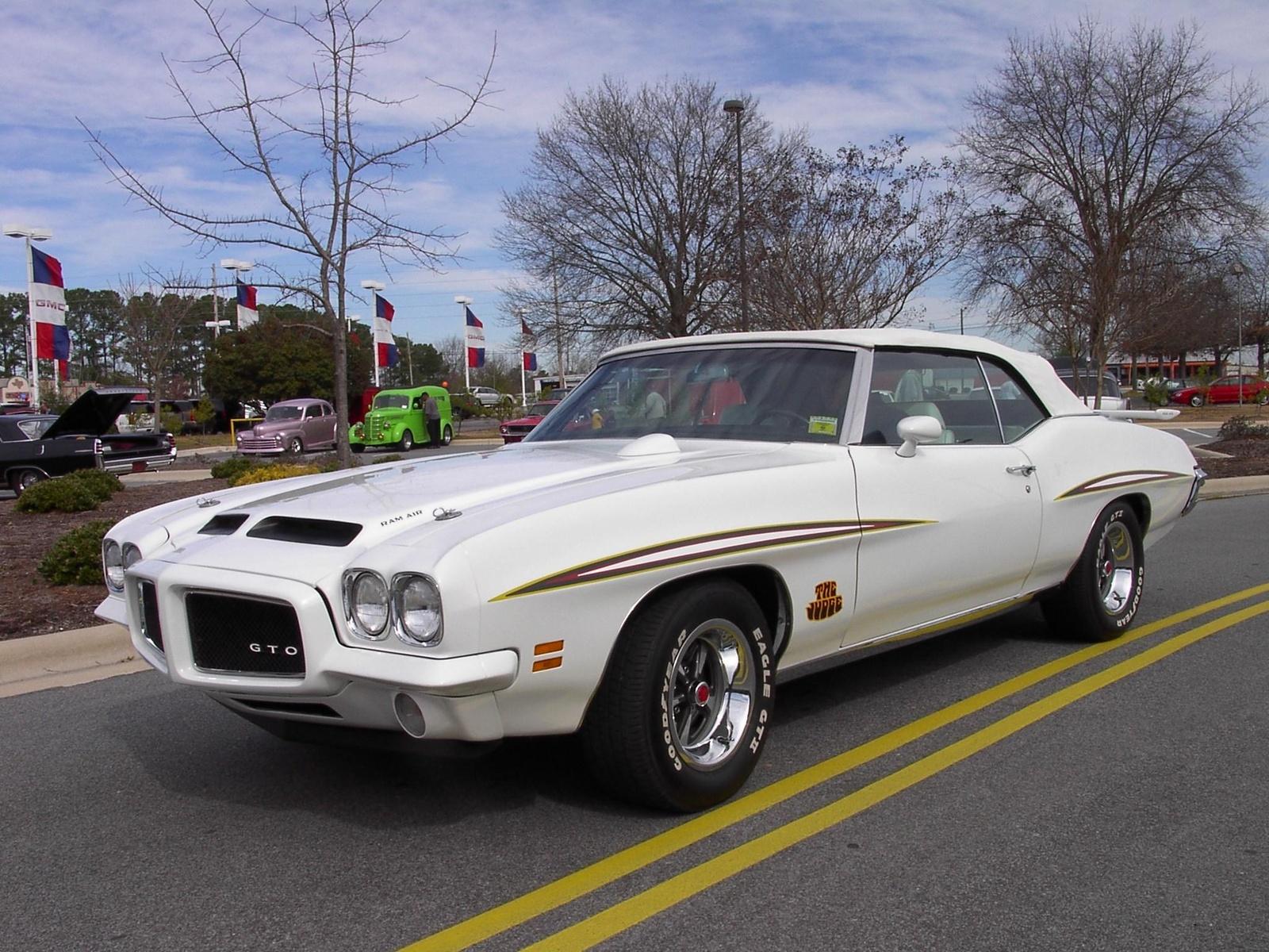 1971 Pontiac Gto Pictures Cargurus