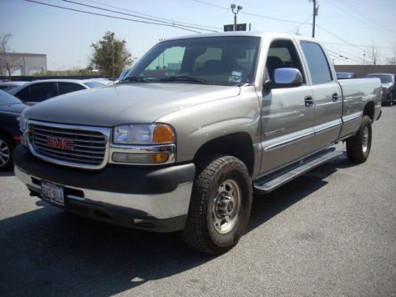 2002 GMC Sierra 2500HD 4 Dr SLT Extended Cab SB HD picture