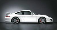 2008 Porsche 911 GT3, Profile, exterior, manufacturer