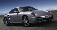 2008 Porsche 911 Turbo AWD, Front quarter from passenger's side, manufacturer, exterior
