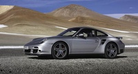 2008 Porsche 911 Turbo AWD, Profile, manufacturer, exterior