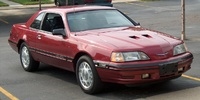 1987 Ford Thunderbird Turbo Coupe picture, exterior