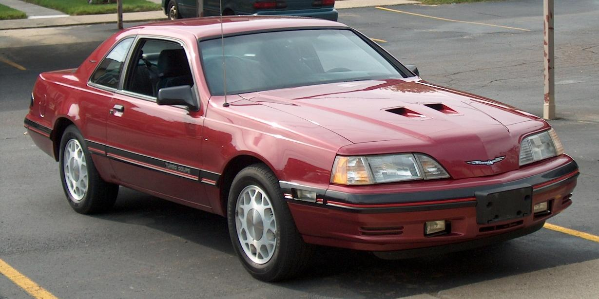 Ford Thunderbird Turbo Coupe Pic