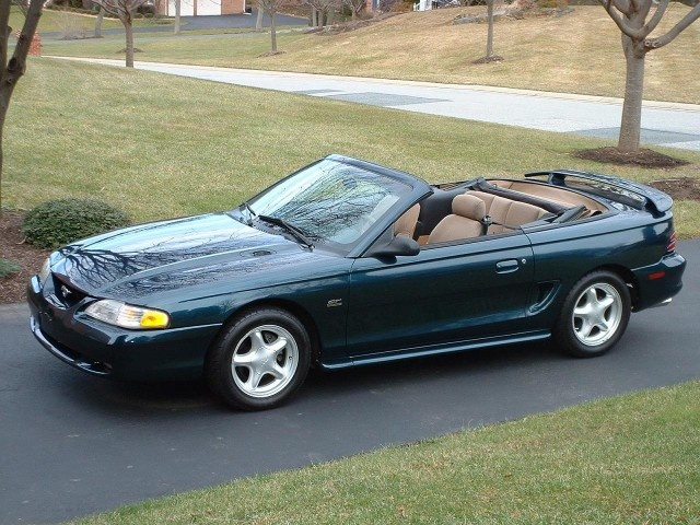 Picture of 1996 Ford Mustang GT Convertible RWD, exterior, gallery_worthy