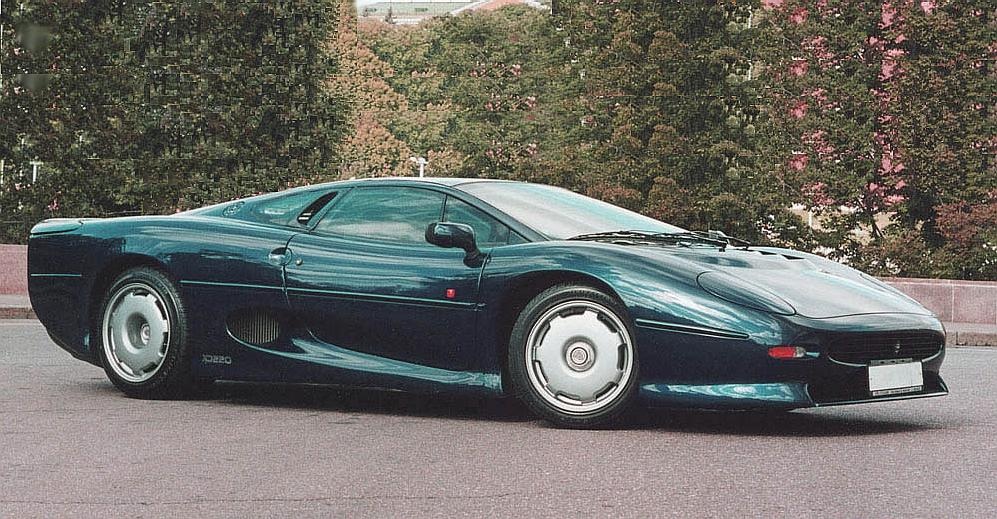 1993 Jaguar XJ220 Pictures