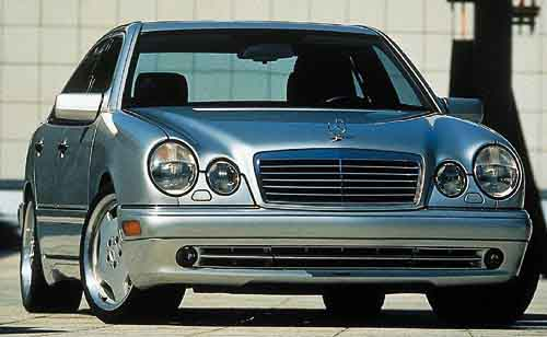 2000 Mercedes-Benz E-Class E320, 2000 Mercedes-Benz E320 4 Dr E320 Sedan picture, exterior
