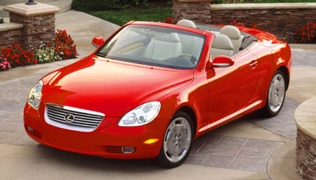 2008 Lexus SC 430 Roadster picture