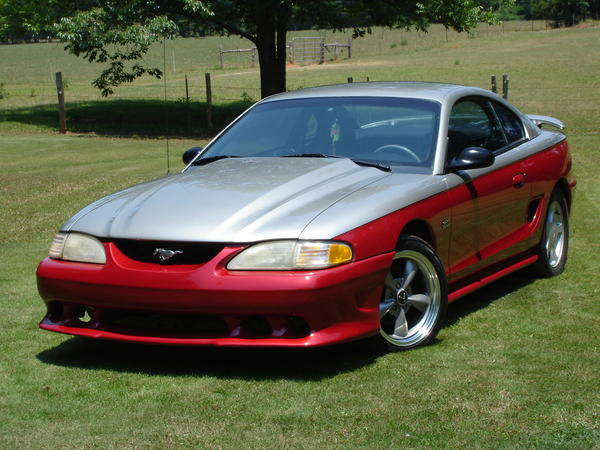 1995 Ford Mustang 2 Dr GTS Coupe picture