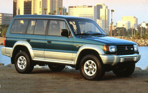 Picture of 1990 Mitsubishi Montero LS 4WD, exterior, gallery_worthy