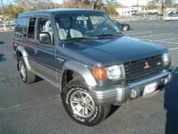 1993 Mitsubishi Montero Overview
