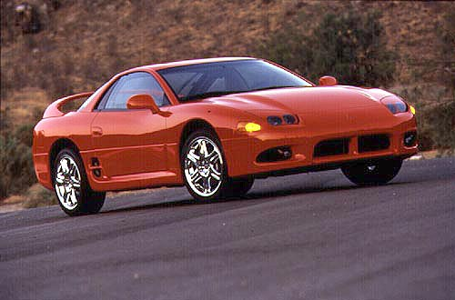 1991 Mitsubishi 3000GT 2 Dr VR-4 Turbo AWD Hatchback picture