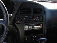 1996 Nissan Pathfinder 4 Dr SE 4WD SUV, Dashboard, HVAC controls, Alpine CD player, interior
