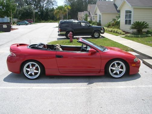 Picture Of 1998 Mitsubishi Eclipse Spyder 2 Dr GS Convertible
