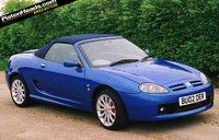 2005 MG F Overview