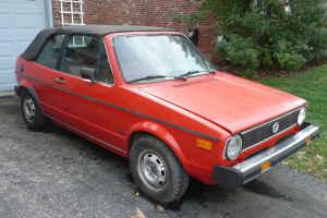 1985 Volkswagen Cabriolet