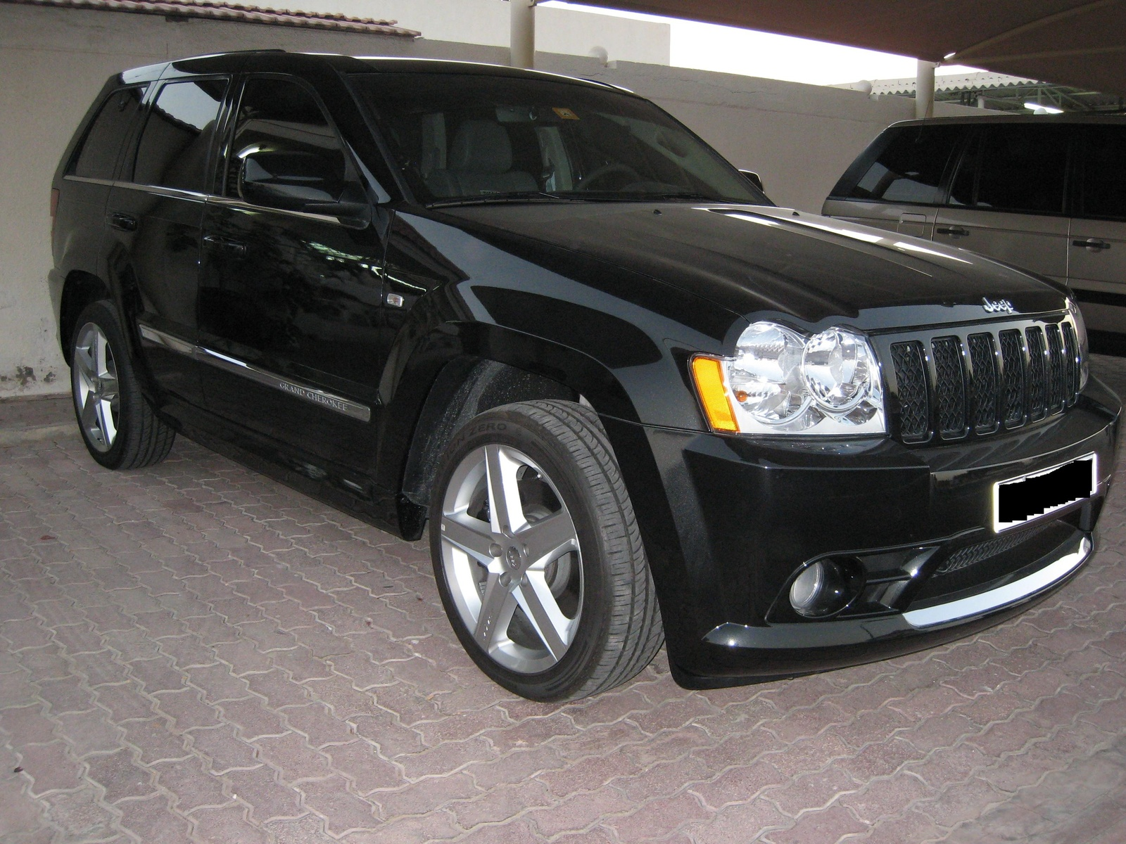 jeep grand cherokee srt8 2006 car interior design. Black Bedroom Furniture Sets. Home Design Ideas