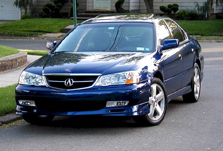 2002 Acura TL S w/ Navigation Pictures