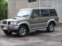 1991 Hyundai Galloper Overview