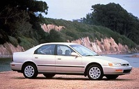 1996 Honda Accord LX, 1996 Honda Accord 4 Dr LX Sedan picture, exterior