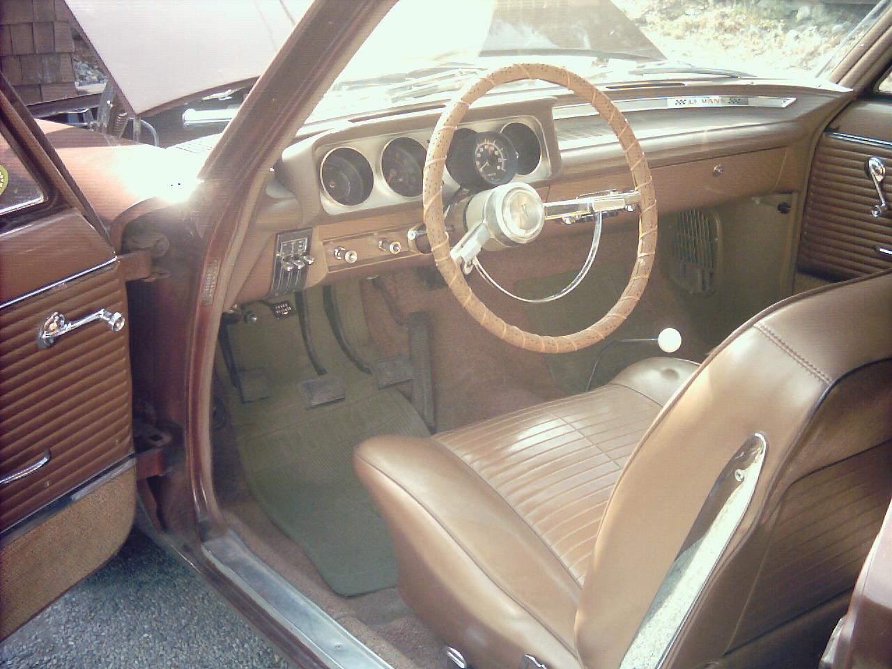 1963 Pontiac Le Mans Interior Pictures Cargurus