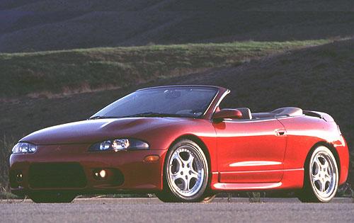 1999 Mitsubishi Eclipse Spyder Gs. 1999 Mitsubishi Eclipse Spyder