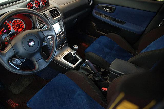 Sport Man 2008 Subaru Wrx Sti Interior