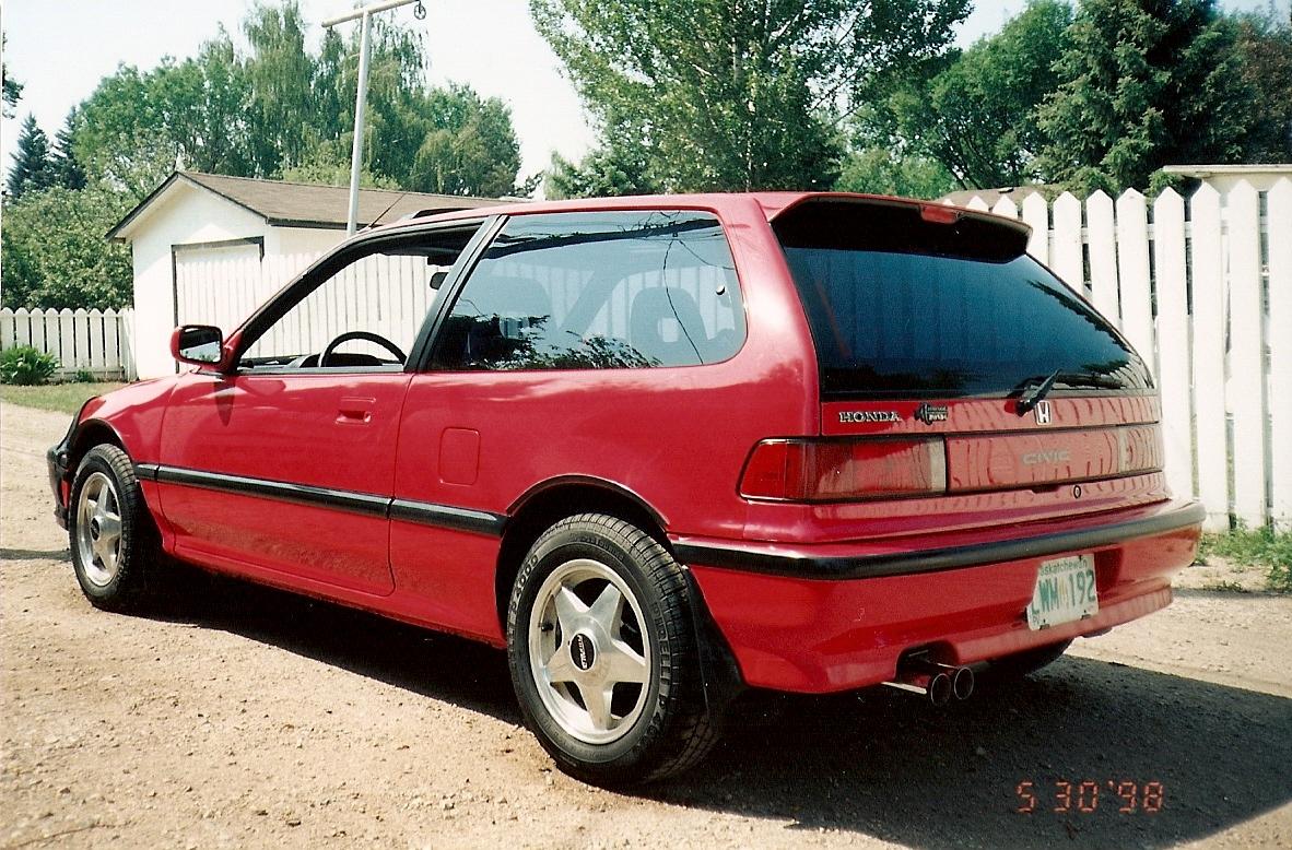 picture of 1990 honda civic si hatchback exterior. Black Bedroom Furniture Sets. Home Design Ideas