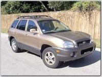 2004 Hyundai Santa Fe GLS 2.7L AWD picture, exterior