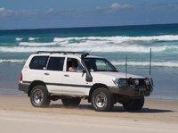 2000 Toyota Land Cruiser, Moreton Island, QLD, exterior