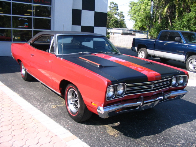 1969 plymouth road runner picture exterior