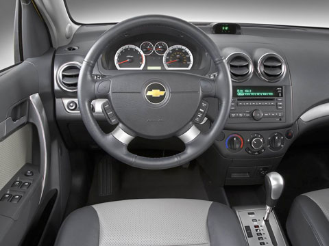 2009 Chevrolet Aveo, steering wheel, manufacturer, interior