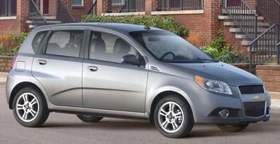 2009 Chevrolet Aveo, side, exterior, manufacturer