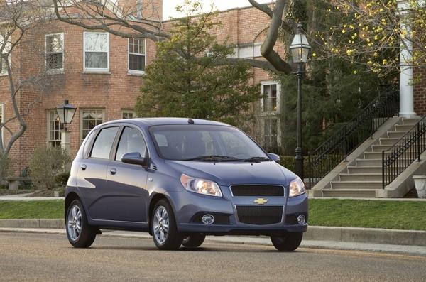2009 Chevrolet Aveo, front, exterior, manufacturer