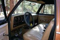 Picture of 1981 Dodge Ram Wagon, interior