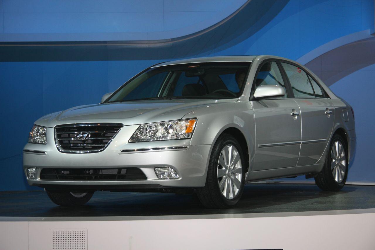 2009 Hyundai Sonata, side, exterior, manufacturer