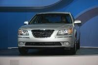 2009 Hyundai Sonata, front, exterior, manufacturer