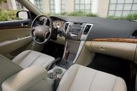 2009 Hyundai Sonata, dashboard, interior, manufacturer