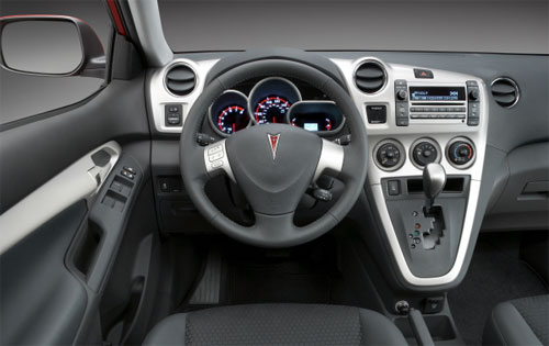 2009 Pontiac Vibe, steering wheel, interior, exterior, manufacturer