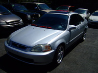 1996 Honda Civic EX Coupe, 1996 Honda Civic 2 Dr EX Coupe picture, exterior