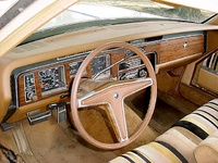 1977 Pontiac Bonneville picture, interior