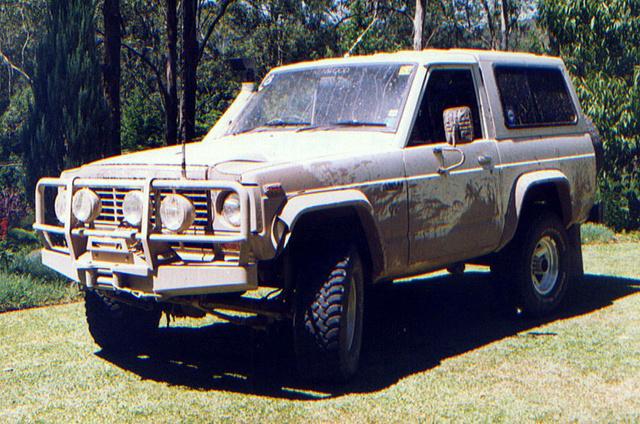nissan patrol, до 1980