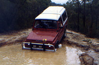 1984 Suzuki Sierra, The Great Old North Road, NSW, Australia. Taken c.1987, exterior, gallery_worthy