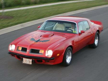 Picture Of 1975 Pontiac Firebird Exterior