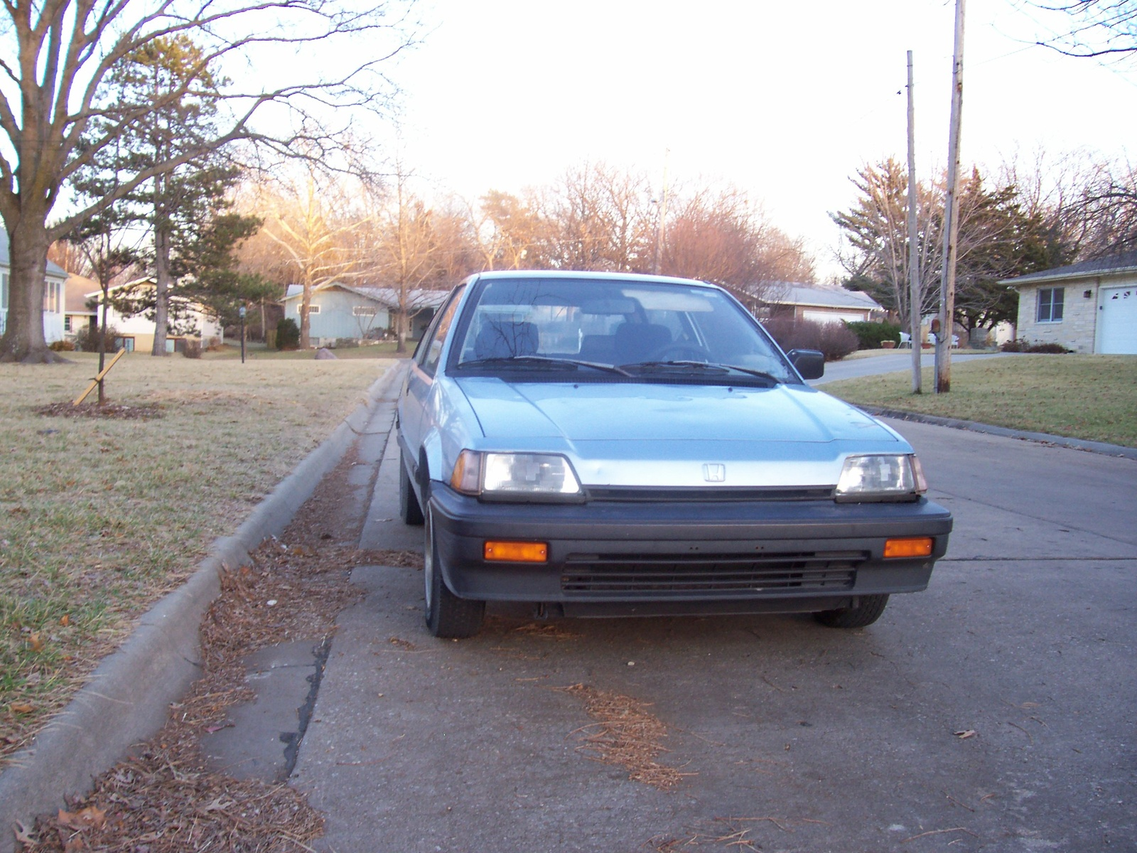 1986 Honda Civic DX Hatchback, 1986 Honda Civic Hatchback DX picture, exterior