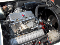 1963 Chevrolet Corvette Coupe picture, engine