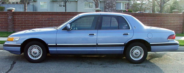 Picture of 1994 Mercury Grand Marquis 4 Dr GS Sedan, exterior