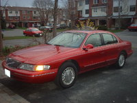 1996 Lincoln Continental Picture Gallery