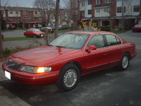 1996 Lincoln Continental Overview