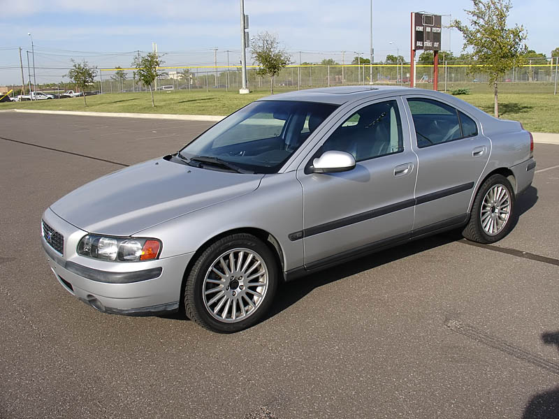 2002 Volvo S60 T5, stock when I bought it., exterior